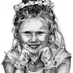 Hay Portrait Pencil