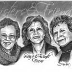 Sisters Friends Pencil