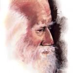 old man pastel